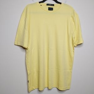 Selected Homme + Yellow Tee - Size L - EUC